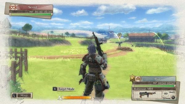 Valkyria Chronicles 4 Switch