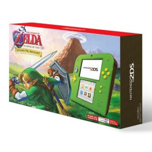 Nintendo 2DS + The Legend Of Zelda Ocarina Of Time 3D