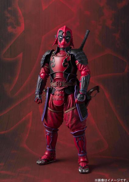 Deadpool Samurai  Marvel Mei Sho Manga Realization