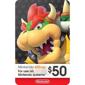 Nintendo Eshop 50