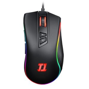 Mouse Indra V2 RGB + Mouse Pad Arena Inferno
