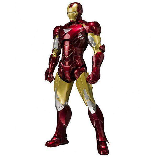 Iron Man Mark VI y Hall of Armor Set Iron Man 3 S.H.Figuarts