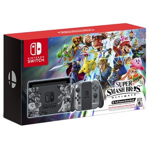 Nintendo Switch Super Smash Bros. Ultimate Bundle