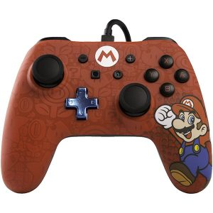 Control con cable PowerA Mario Switch