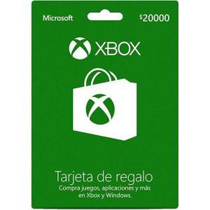 Xbox Live $20.000