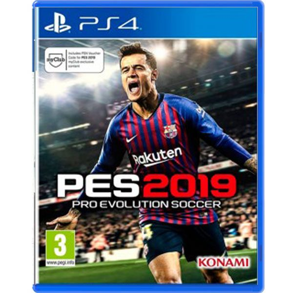 Pro Evolution Soccer 2019 (Europeo)