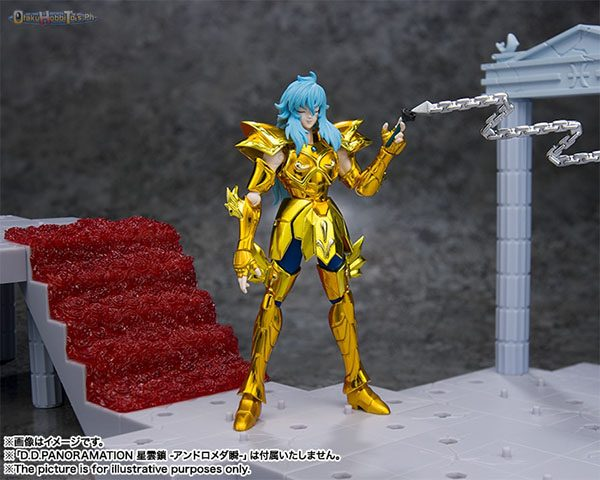 Pisces Aphrodite Blooming Roses in the Palace of the Twin Fish Saint Seiya D.D.Panoramation