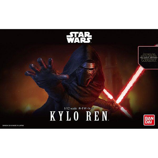 Kylo Ren 1/12 Bandai Hobby (Plastic model)