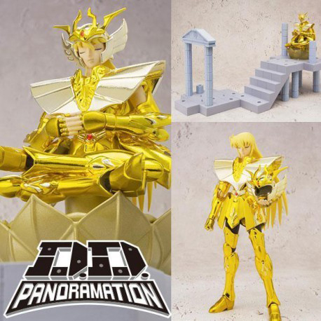 Virgo Shaka The Temple of the Maiden Saint Seiya D.D.Panoramation