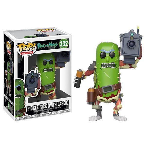 Rick and Morty – Pickle Rick w/laser
