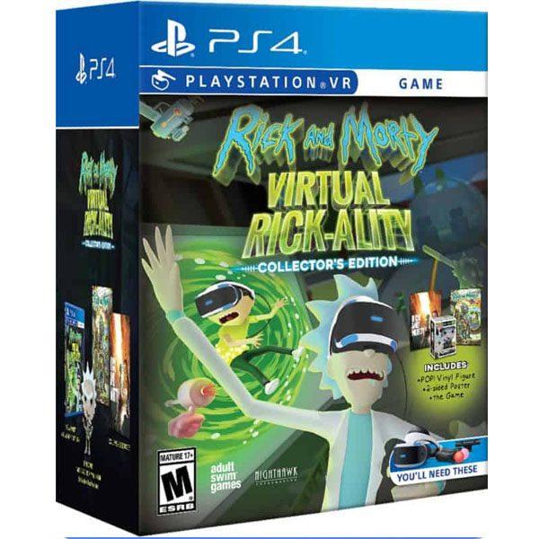 Rick And Morty Virtual Rick-Ality Collectors Edition