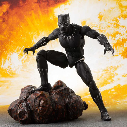 Black Panther & Tamashii Effect Avengers: Infinity War S.H.Figuarts