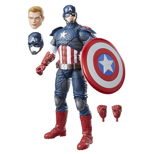 Capitan america 30 cm – Marvel Legends
