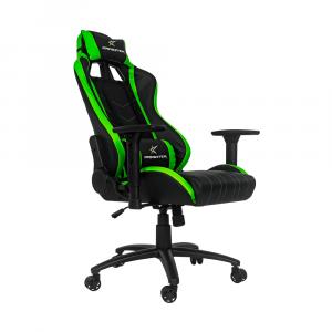 Silla Gamer Dragster Gt400 Negro Con Verde