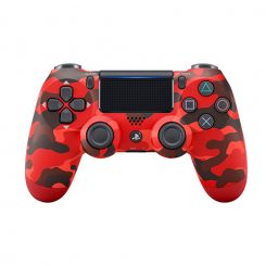 Control Dualshock 4 V2 Ps4 Red Camouflage