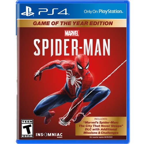 Spider-man Game of the Year Edition