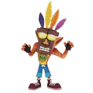 Crash Bandicoot con Aku Aku 7″ – Neca