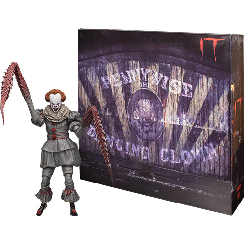 "Ultimate ""Dancing Clown"" Pennywise – IT – 7″ Scale"