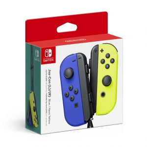 Joy-Con (L-R) Blue / Neon Yellow