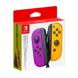 Joy-Con (L-R) Neon purple / Neon Orange