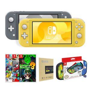 Nintendo Switch Lite + juego + bolso+ mica