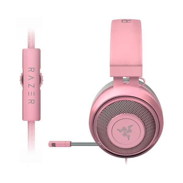 Audifonos Razer kraken Quartz Pink
