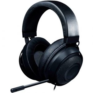 Audifonos Razer kraken Oval Black.