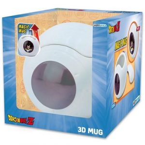 Dragon Ball Z – Saiyan Space Pod 3D Magic Mug, 17 oz.