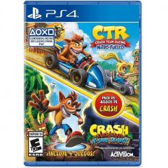 Crash Game Bundle ( CTR NITRO + CRASH INSANY TRILOGY)