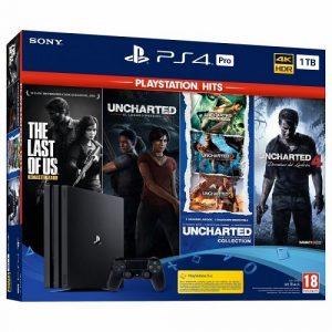 Playstation 4 Pro: PS Hits Naughty Dog Bundle (6 Juegos)