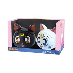 Tazon Mug Sailor Moon 3D Pack 2