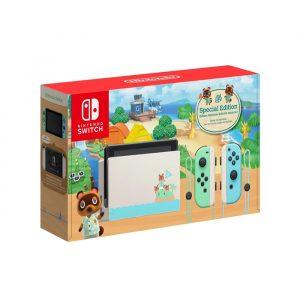 Nintendo switch Animal Crossing + Juego + Mica + bolso