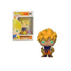 Funko Pop – Dragon Ball Z – Super Saiyan Goku (First Apperence) 860 GLOW ESPECIAL