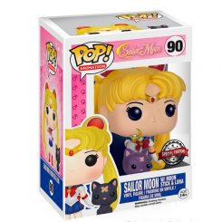 Funko Pop – Sailor Moon – Sailor Moon W/ Moon 90