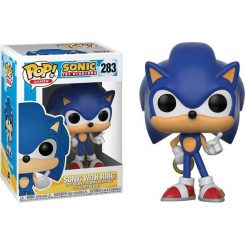 Funko Pop – Sonic the hedgehog – Sonic with ring 283