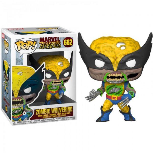 Funko POP! MARVEL ZOMBIES – Zombie Wolverine 662