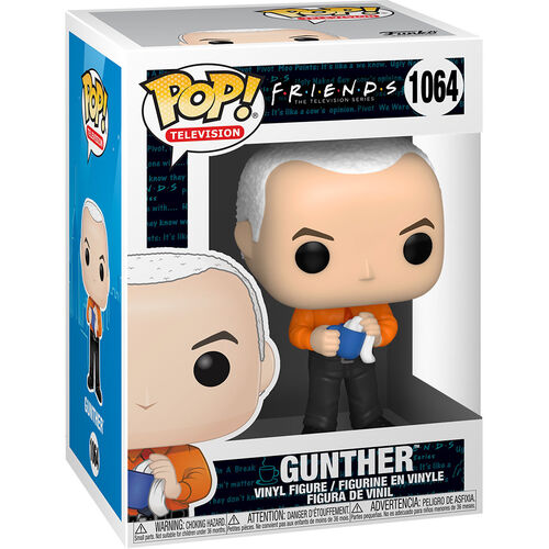 Funko POP! – Friends –  Gunther 1064