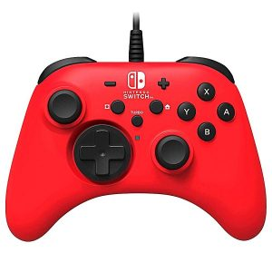 Control con cable Horipad Switch Red edition