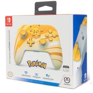 Control Inalambrico Switch Pikachu Power A