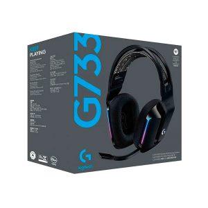 Audifonos G733 Con microfono Inalambrico Black