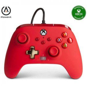 Control Alambrico XBOX Power A Rojo